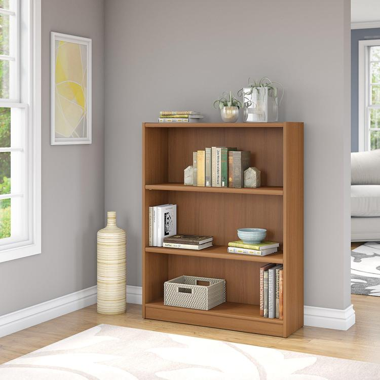 Universal 3 Shelf Bookcase
