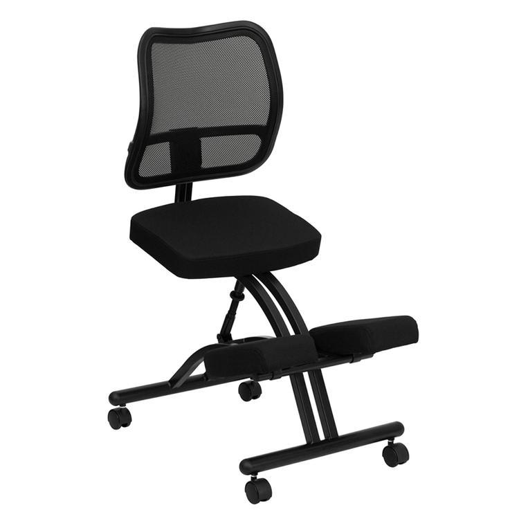 Flash Furniture Mobile Ergonomic Kneeling Chair With Mesh Back