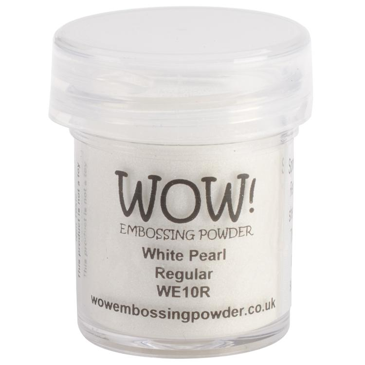 WOW! Embossing Powder 15ml-White Pearl