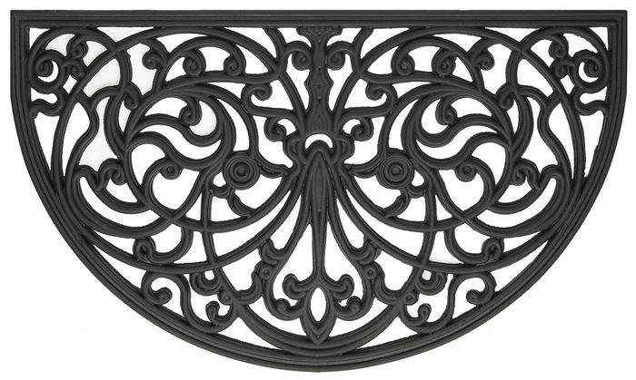 Wrought Iron Rubber Mat Ironworks
