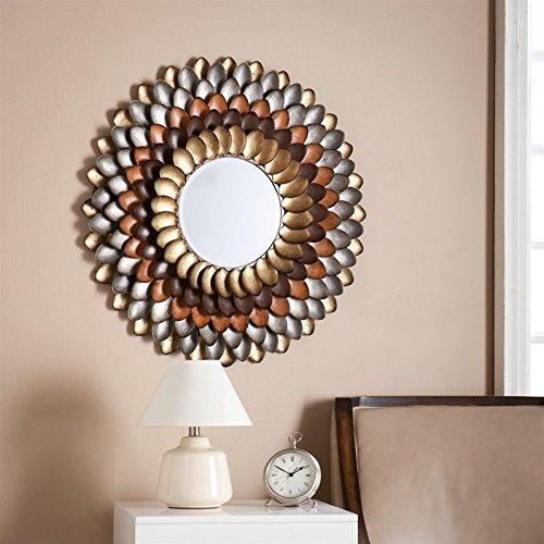 SEI Albion Round Decorative Mirror