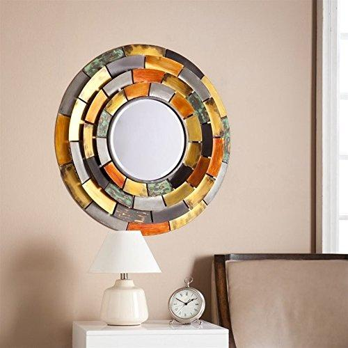SEI Baroda Round Decorative Mirror