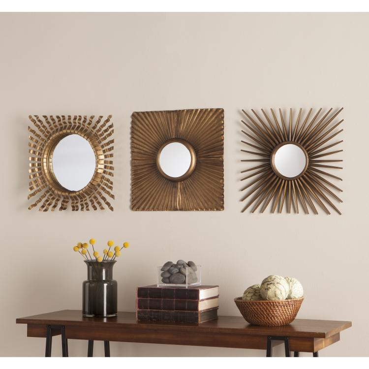 Lorzy Decorative Mirror Set