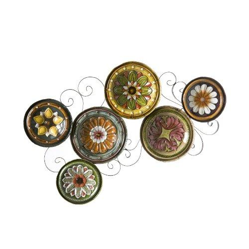 Southern Enterprises Scattered Italian Plates Wall Art