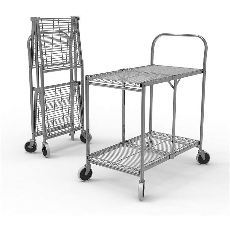 Luxor Collapsible Wire Utility Cart [Item # WSCC-2]