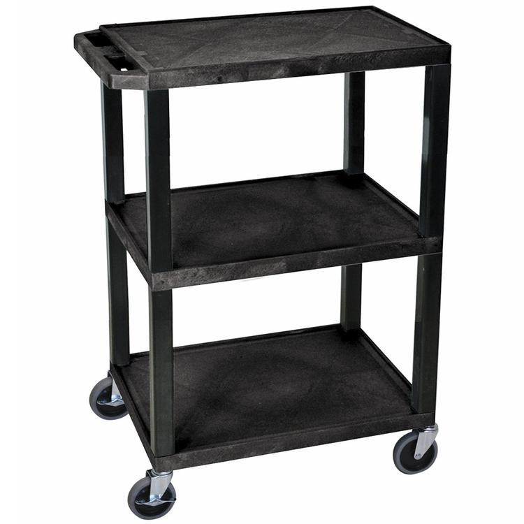 Luxor Tuffy Utility Cart - Three Shelves