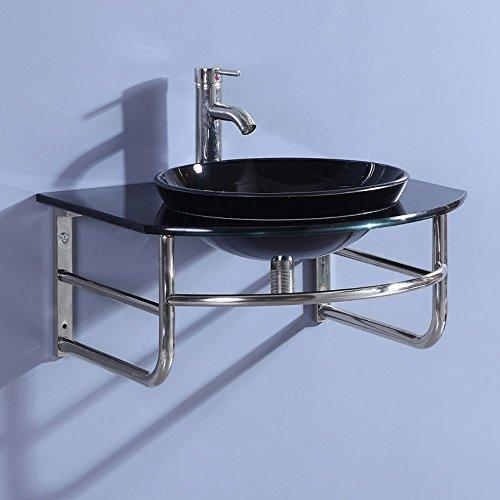 SINK VANITY WITHOUT MIRROR AND FAUCET
