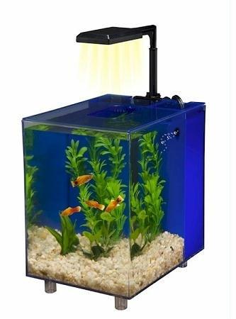 Penn Plax Prism? Nano Aquarium Kit - Blue 2 Gal