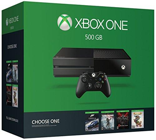 Xbox One 500 GB Bundle With 1 Game