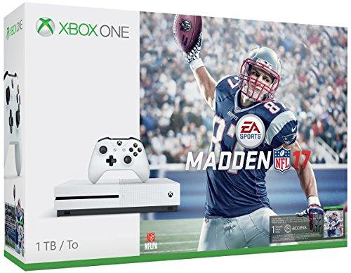 Xbox One S 1 TB Bundle With Madden 17