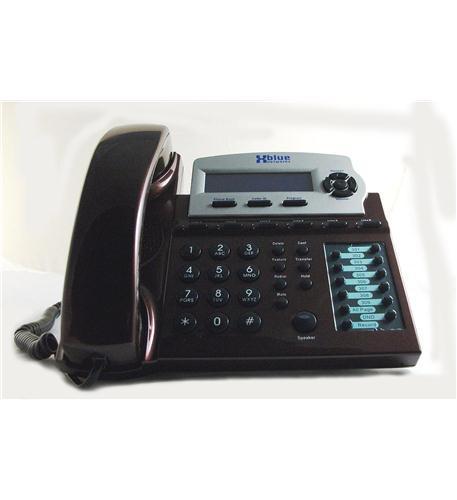 Xblue Speakerphone - Red Mahogany