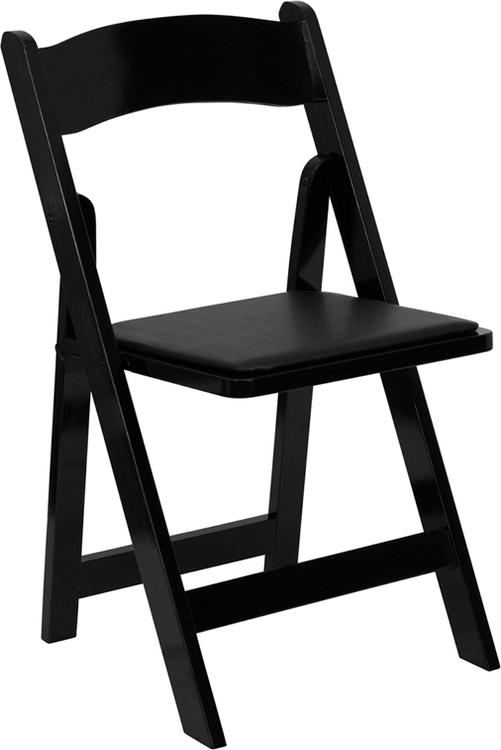 Hercules Series Folding Chair With Vinyl Padded Seat