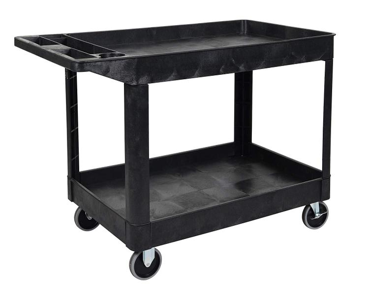 Luxor Extra Large 2 Tub Cart [Item # XLC11-B]