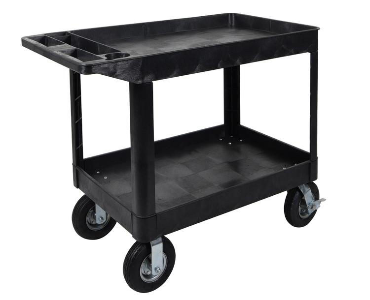 Luxor Extra Large 2 Tub Cart