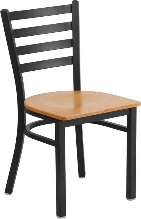 Hercules Series Ladder Back Restaurant Chair - Seat