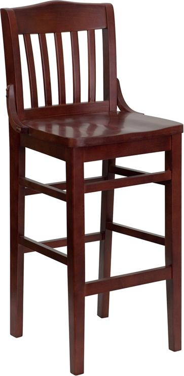 Flash Furniture Hercules Series School House Back Restaurant Barstool