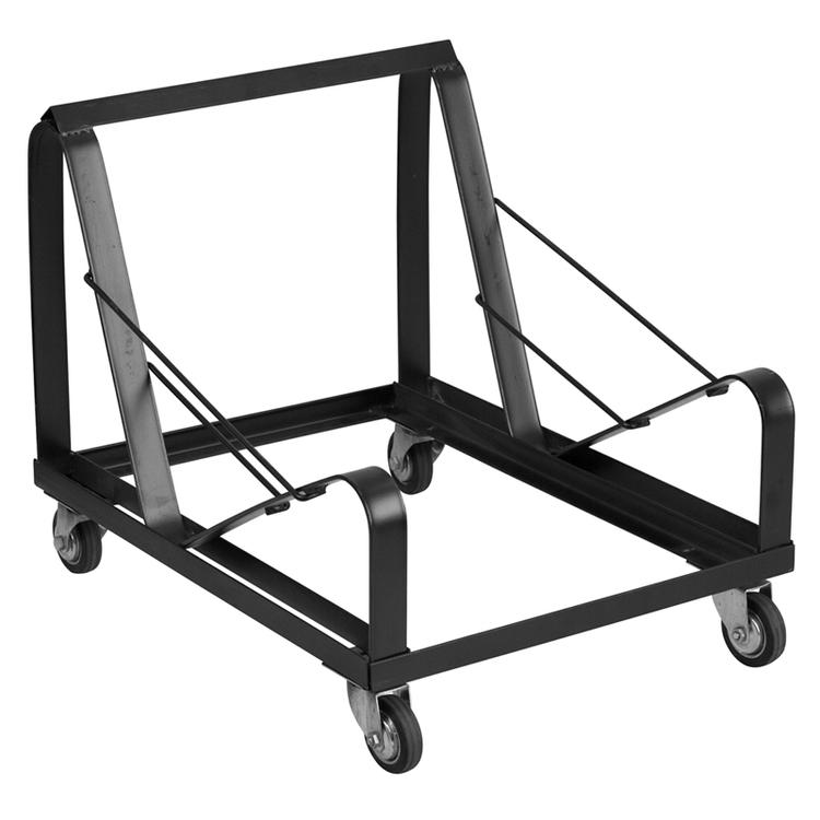 Flash Furniture Hercules Series Steel Sled Base Stack Chair Dolly