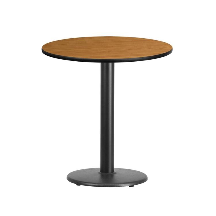 Round Table Top With Round Table Height Base