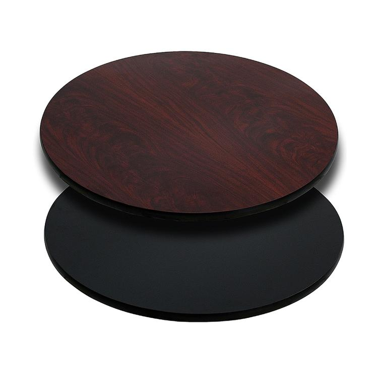 Flash Furniture Round Table Top with Reversible Laminate Top (Top Only)
