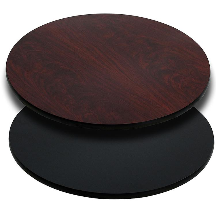 Round Table Top with Reversible Laminate Top (Top Only)