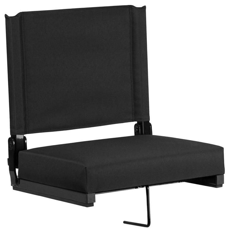 Grandstand Comfort Seats By Flash With Ultra-Padded Seat