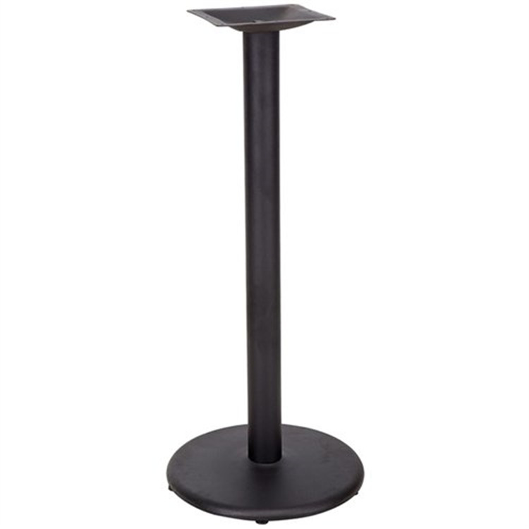 18'' Round Restaurant Table Base with 3'' Dia. Column (Base Only)