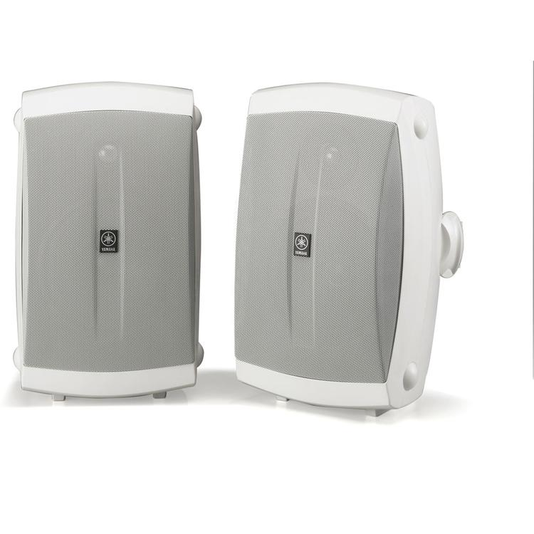 Yamaha All-Weather Speaker System with Wide Frequency Response - White