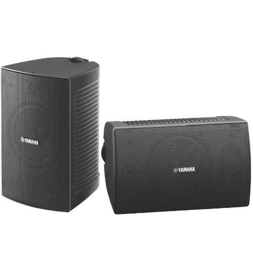 Yamaha 100W Weatherproof 2-Way Bass Reflex Speakers - Black