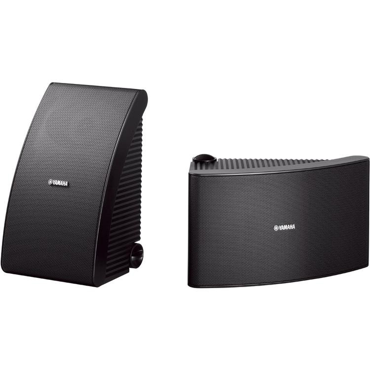 Yamaha 180W Outdoor 2-Way Speakers (Pair) - Black
