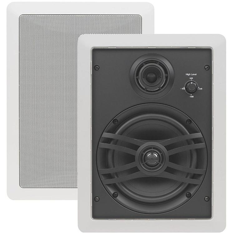 Yamaha 3-Way In-Wall Speaker System