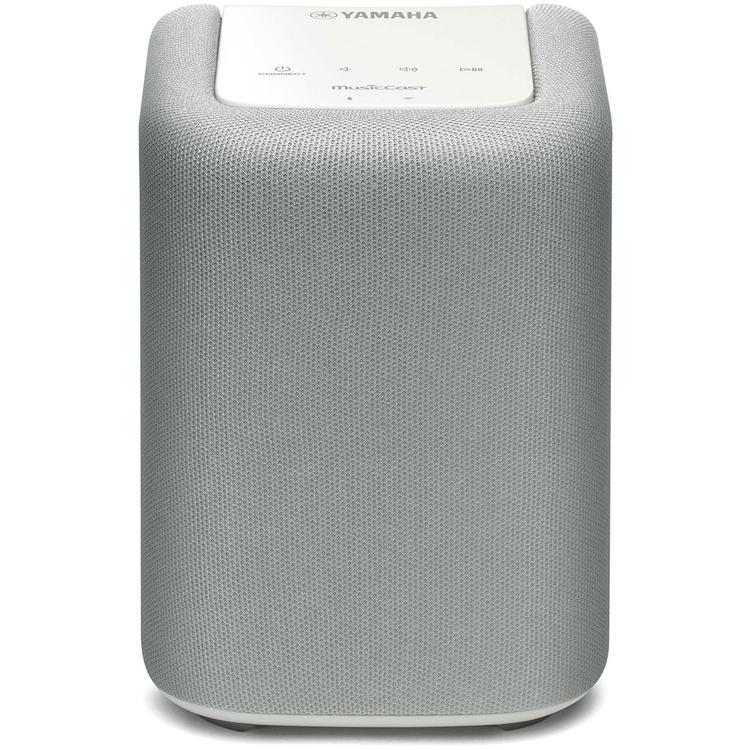 Yamaha MusicCast Wireless Speaker in White [Item # YAMAHAWX-010WH]