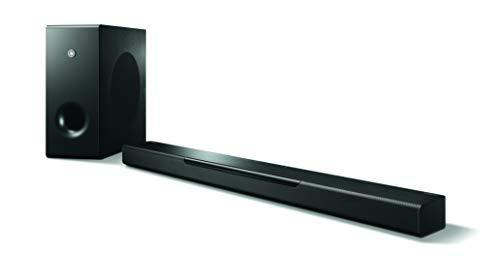 Yamaha MusicCast BAR 400 Sound Bar with Wireless Subwoofer and Alexa Connectivity - Black