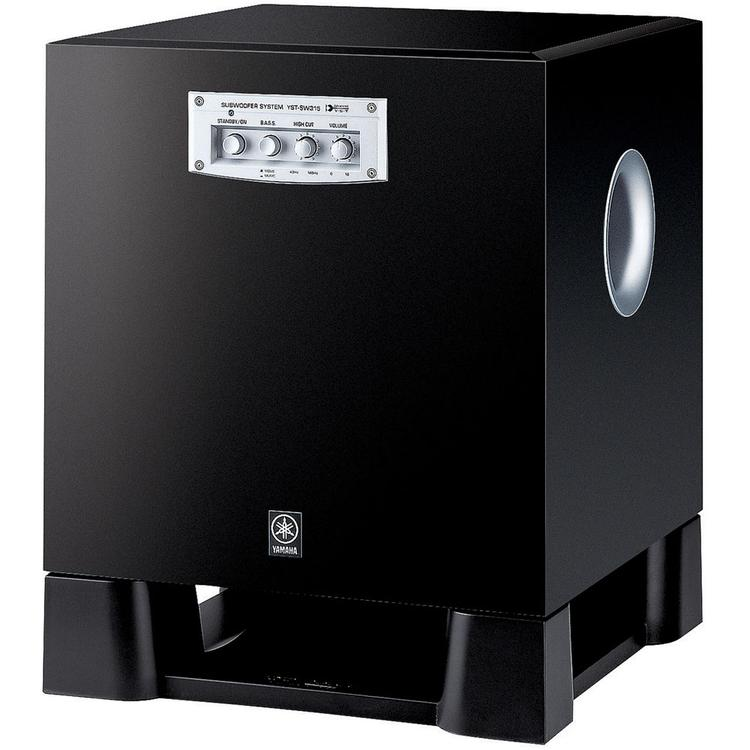 Yamaha 270 Watt Powered Subwoofer, Black - [YAMAHAYSTSW315BL]