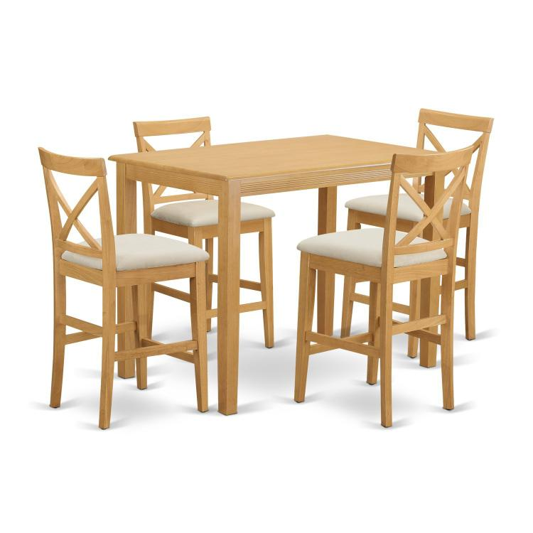 Counter Height Dining Set-Pub Table And Counter Height Dining Chair