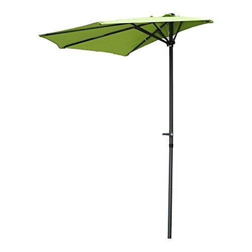International Caravan Half Round Wall Hugger Umbrella