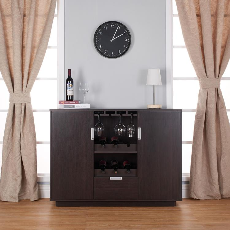 Ella 2-Cabinet Multi Space Wine Storage Case