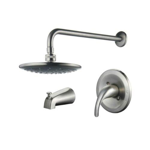 Single Handle Pressure Balanced Tub and Rain Shower