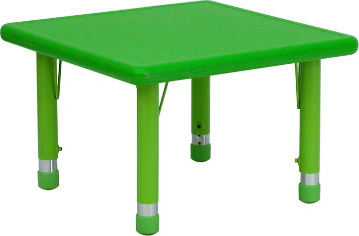Square Height Adjustable Activity Table