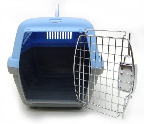 Small Plastic Carrier for Small Animal, Blue
