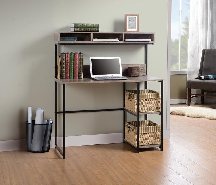 Homestar Laptop Desk with Hutch