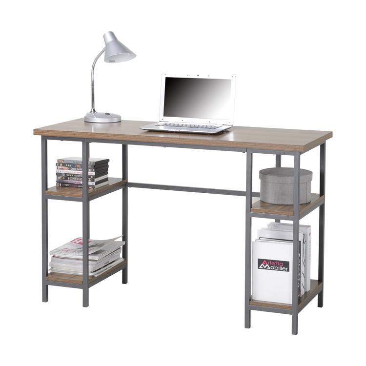 Homestar Laptop Desk with 4-Shelves
