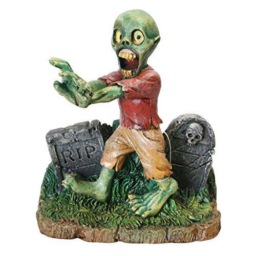 4? W X 2¼? D X 4½? H Zombie Walking Through Tombstones