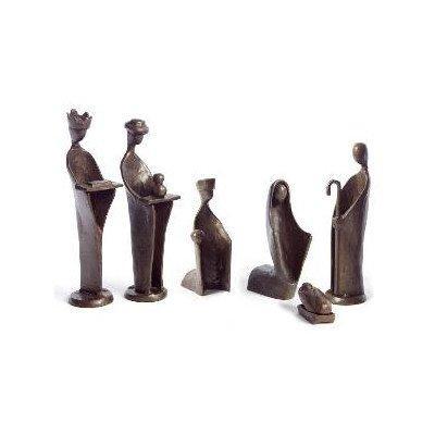 Danya B? 6 pc. Mini Nativity Set, Bronze