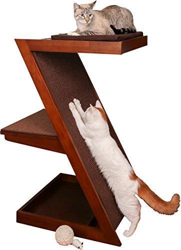 Zen Cat Scratcher - Espresso