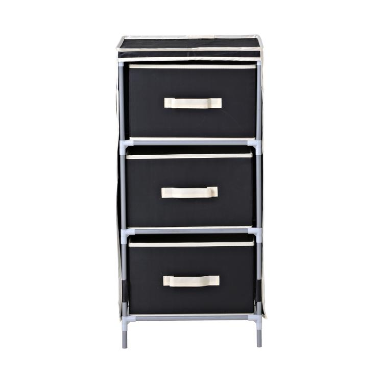 Homestar 3-Drawer Fabric Dresser