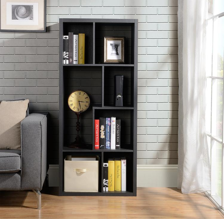 7 Compartment Shelving Console