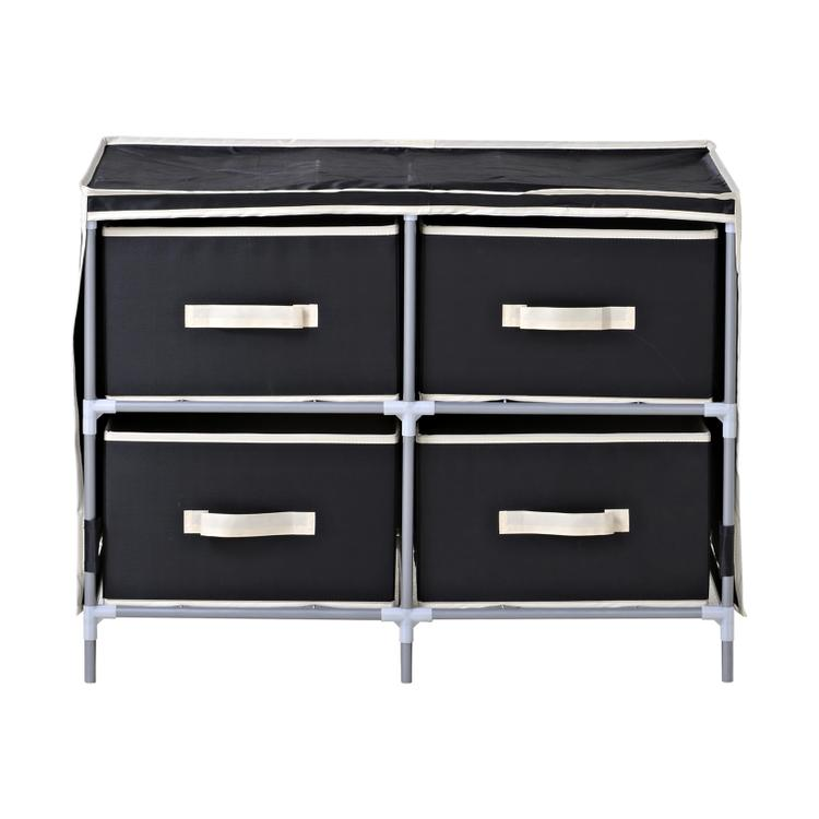 Homestar 4-Drawer Fabric Dresser