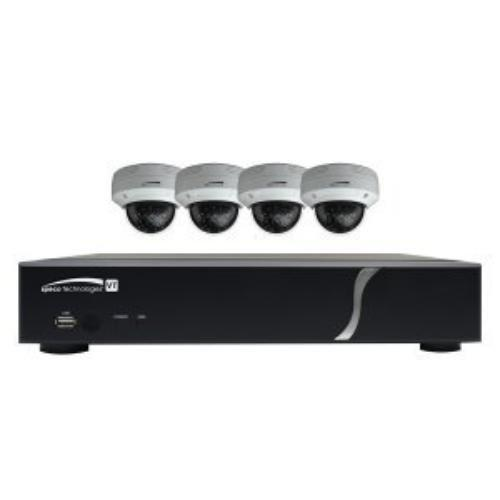 Speco 4 Channel TVI DVR Dome Cameras