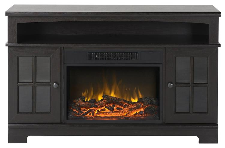 Zarate 44.5 in. Wide Media Fireplace