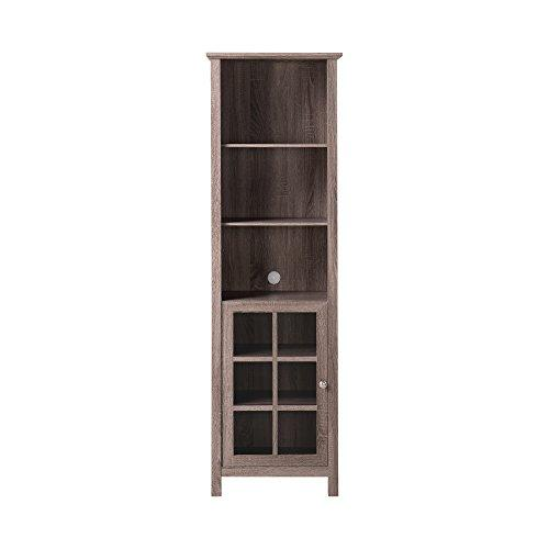Homestar Provence Bookcase/Media Storage Pier